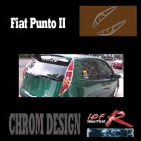 Chromové rámečky zadních světlometů Fiat Punto 2dv. rok výroby 01-03