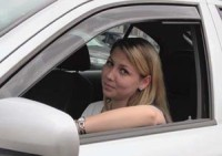 ofuky předních oken FIAT 131